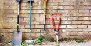 Estate Treasures and Services has all your gardening tools at the store